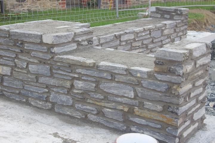 Verkleidung Betonmauer war genial stil für ihr wohnideen