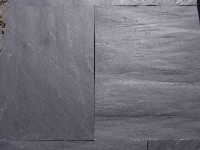 terrassenplatten schiefer schwarz schieferplatten schieferfliesen naturstein ebay. Black Bedroom Furniture Sets. Home Design Ideas