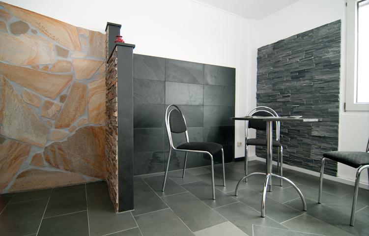 musterausstellung backes schiefer naturstein. Black Bedroom Furniture Sets. Home Design Ideas