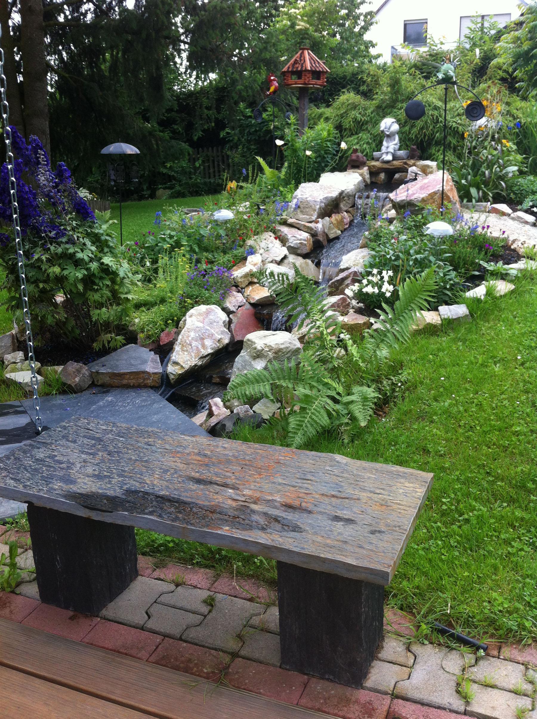 Garten backes for Gartengestaltung rustikal