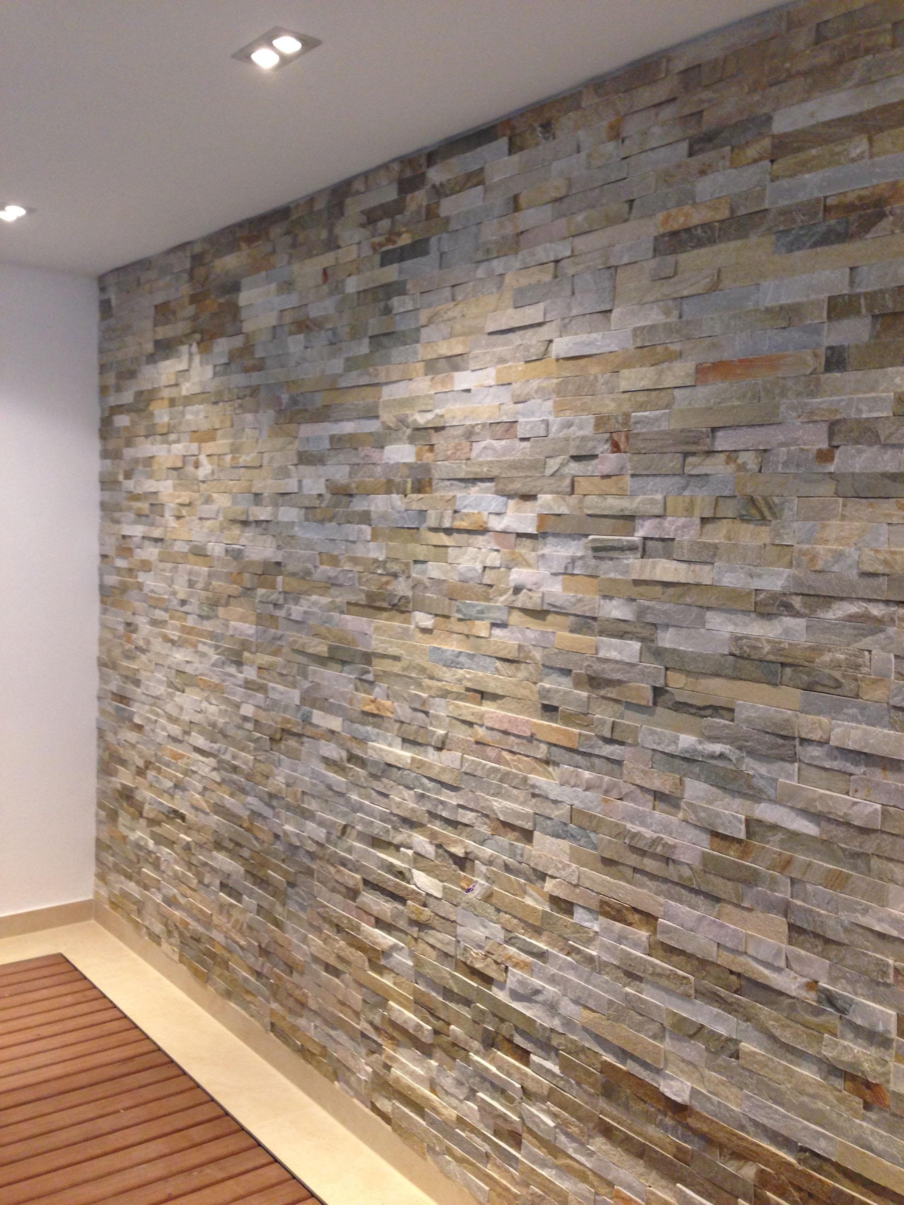 Wandgestaltung backes - Steinwand verblender ...
